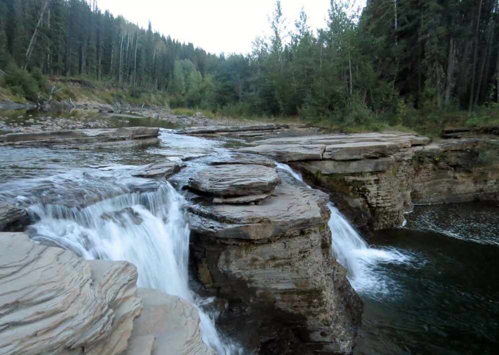 Flatbed Creek Falls, Tumbler Ridge