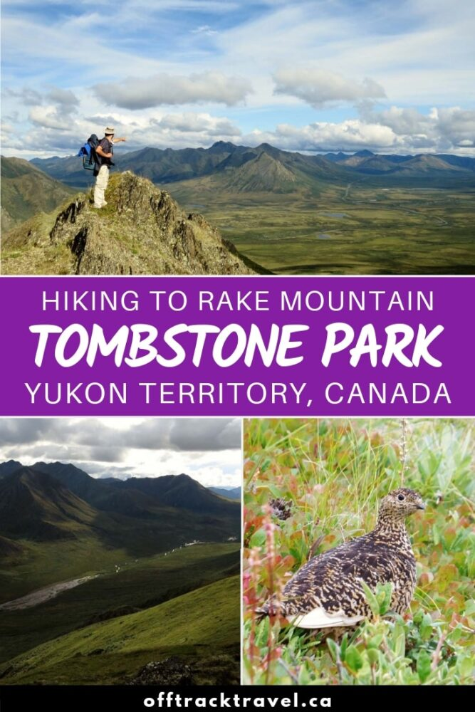 Tombstone Territorial Park is home to the most incredible rugged mountains you could ever imagine. If you like to hike, Tombstone Park in Yukon, Canada, has to be on your bucket list. Click here to read our experience and hiking guide! offtracktravel.ca