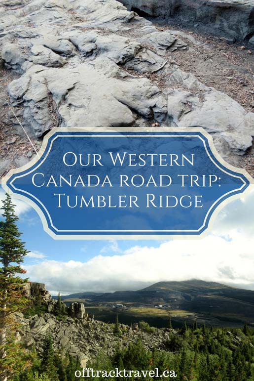 Visiting Tumbler Ridge BC on Our Western Canada Road Trip