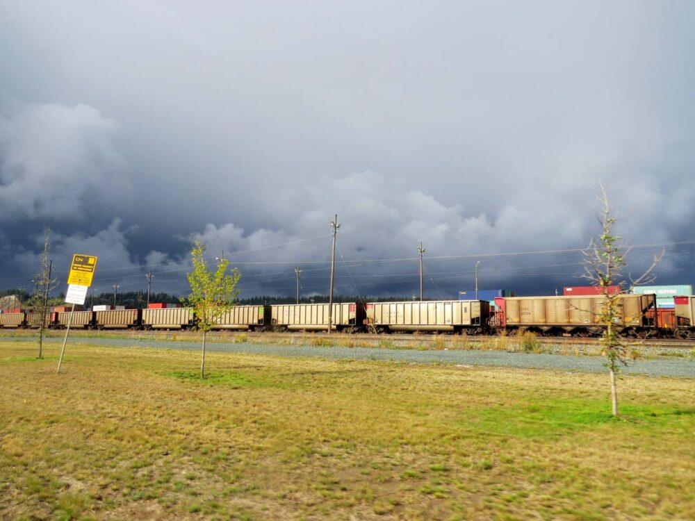 Prince George Railway storm, British Columbia