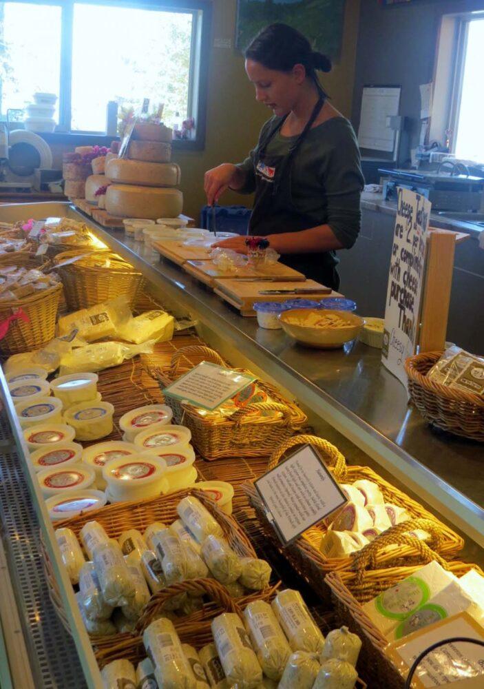 Carmelis Goat Cheese artisan Kelowna Okanagan Lake