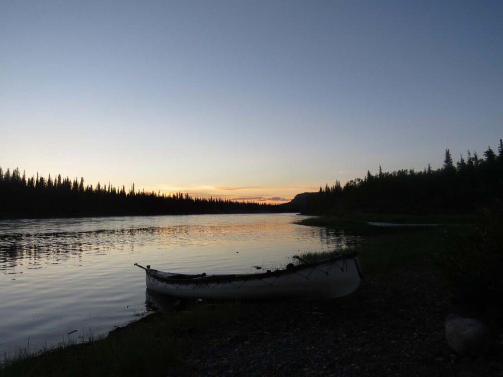 Paddling the Yukon River