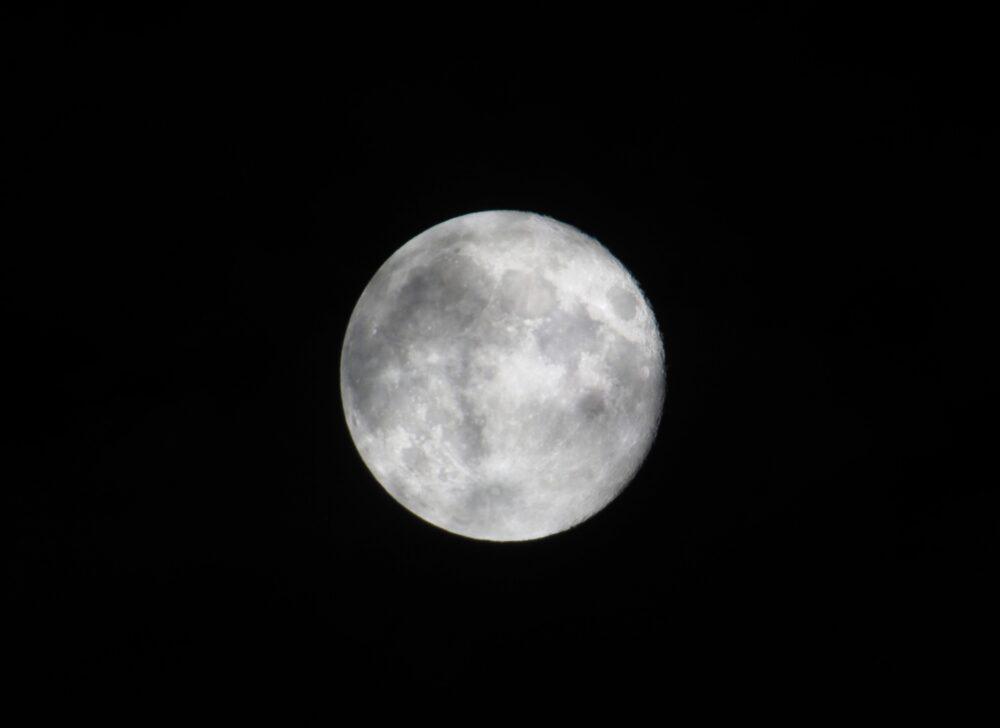 James Lake moon Kelowna