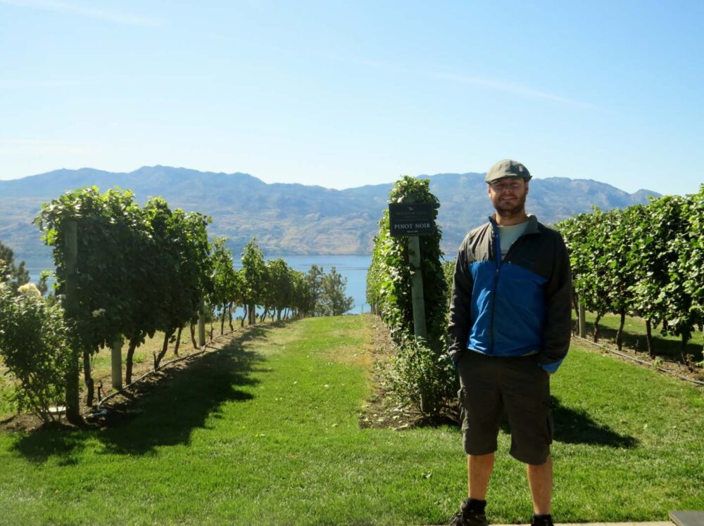 Mission Hill vineyards Kelowna Okanagan