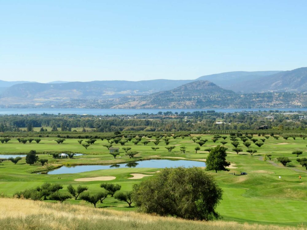 Okanagan Lake views and golf course Kelowna