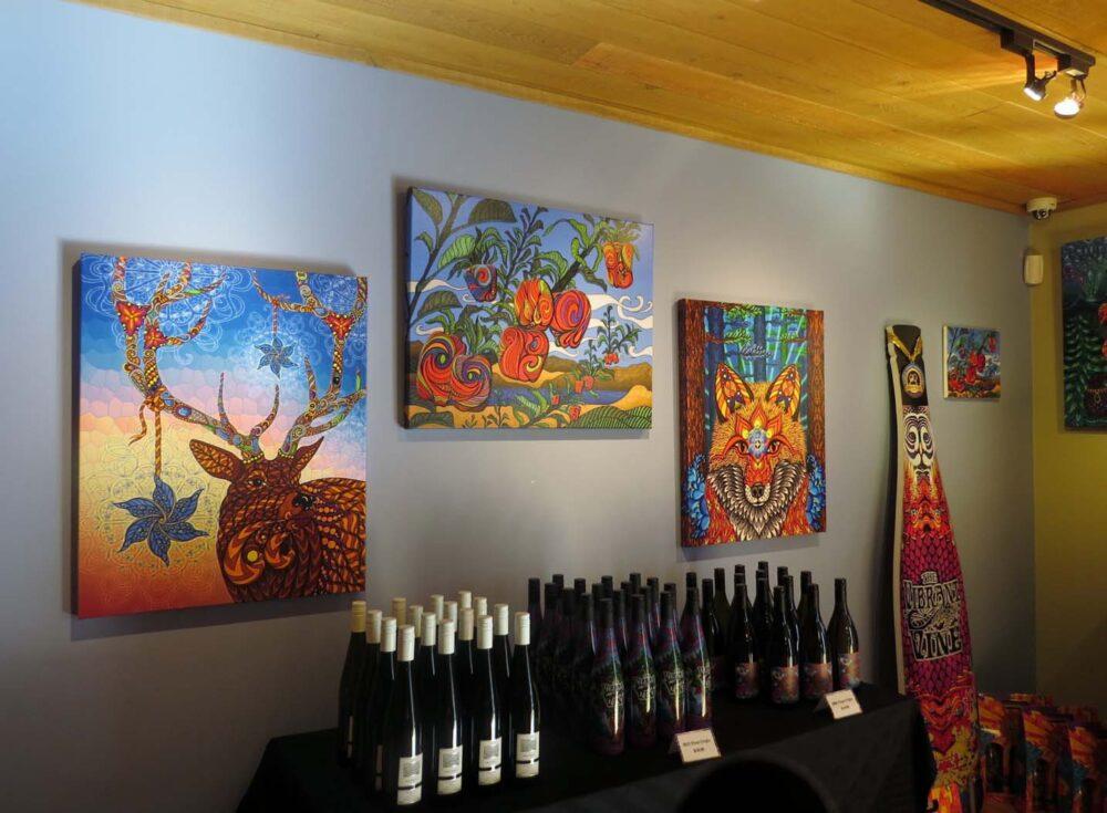 Vibrant Vine tasting room Kelowna