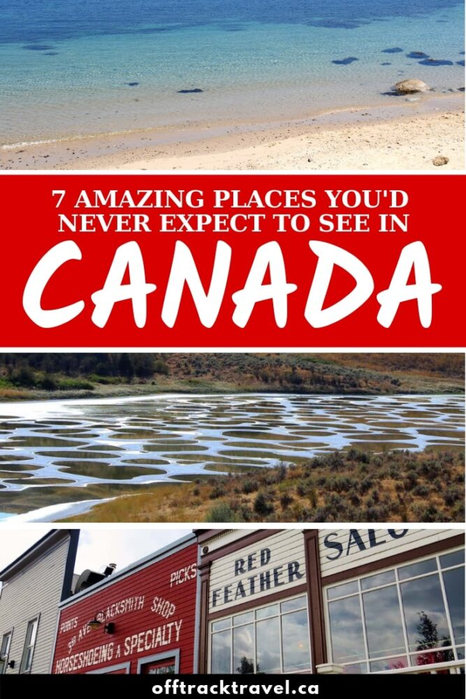 There's more to Canada than mountains, moose and maple syrup! Here are 7 amazing places that challenged my preconceived ideas of Canada and proved that there is much more to this beautiful country than first meets the eye! offtracktravel.ca