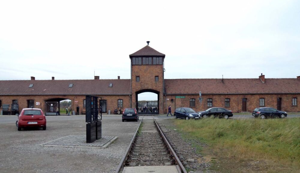 Birkenau entrance