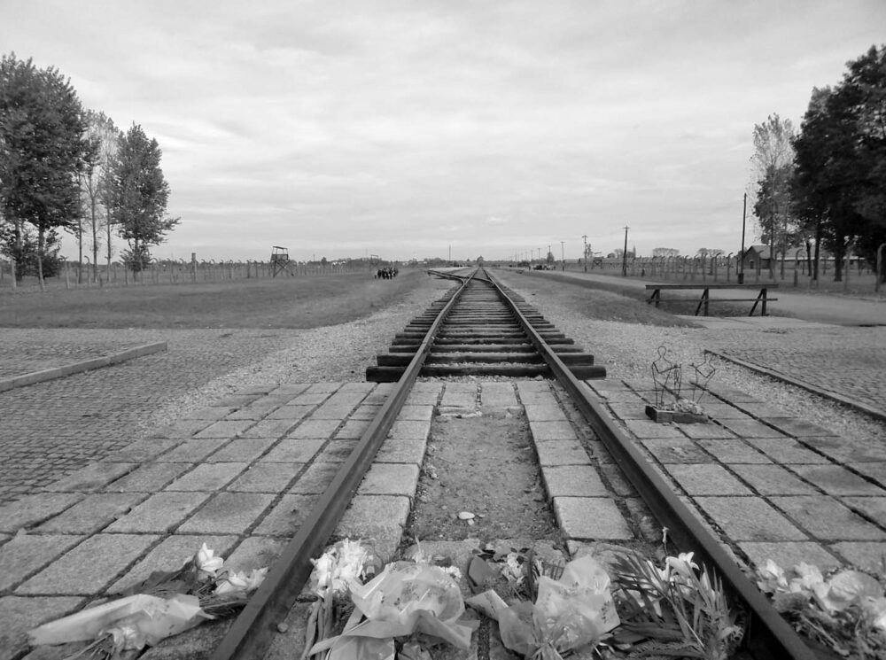 End of the tracks Birkenau