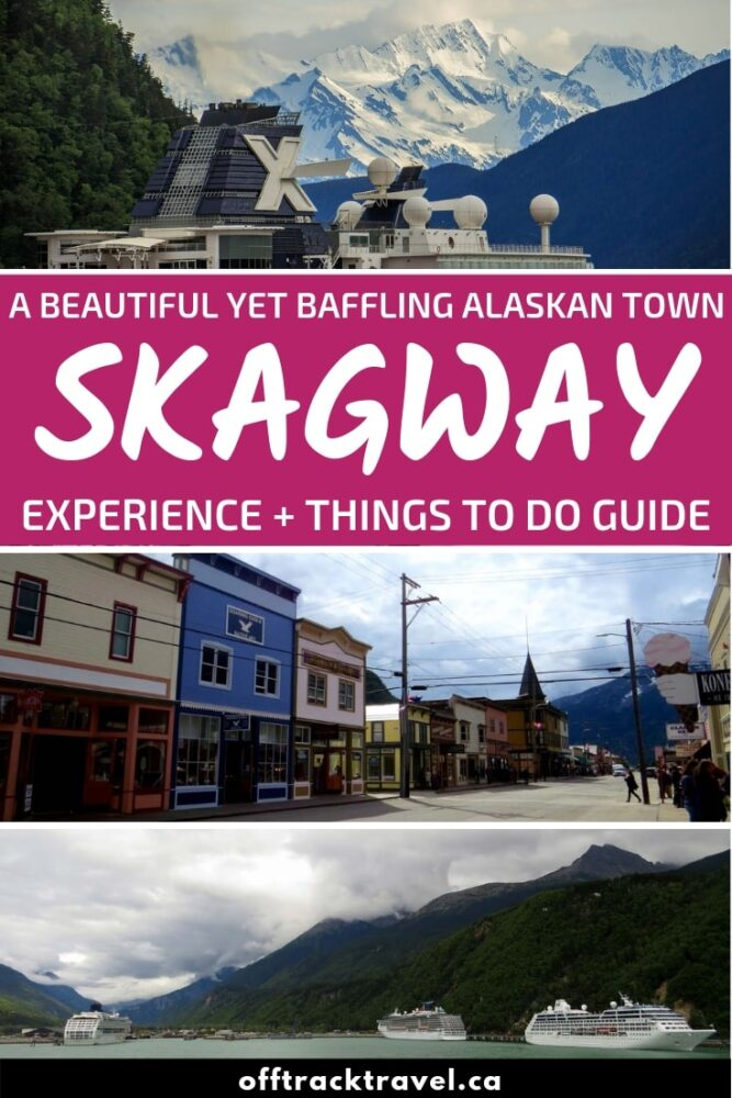 With a mix of coastal Alaskan scenery, diamonds and cruise ships, Skagway is a beautiful yet baffling town. But there is still plenty of wilderness spirit if you know where to find it. Click here to discover more about this small Gold Rush town! offtracktravel.ca