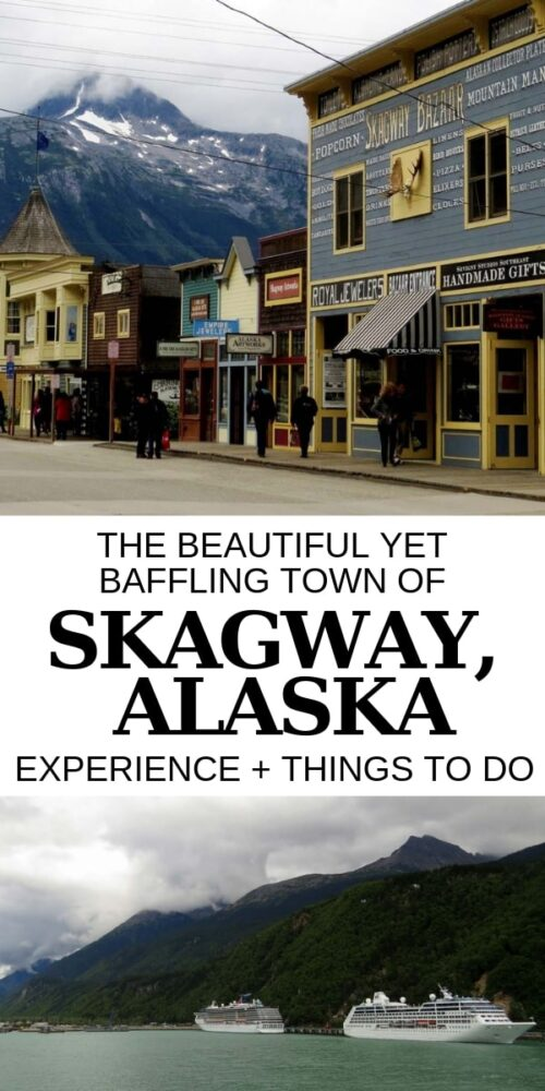 With a mix of coastal Alaskan scenery, diamonds and cruise ships, Skagway is a beautiful yet baffling town. But there is still plenty of wilderness spirit in this small community, even if it is hard to see in the height of summer. Click to discover our experience in Skagway plus a quick things to do guide for your own visit! offtracktravel.ca