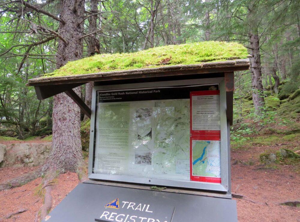 Chilkoot trailhead Dyea Skagway