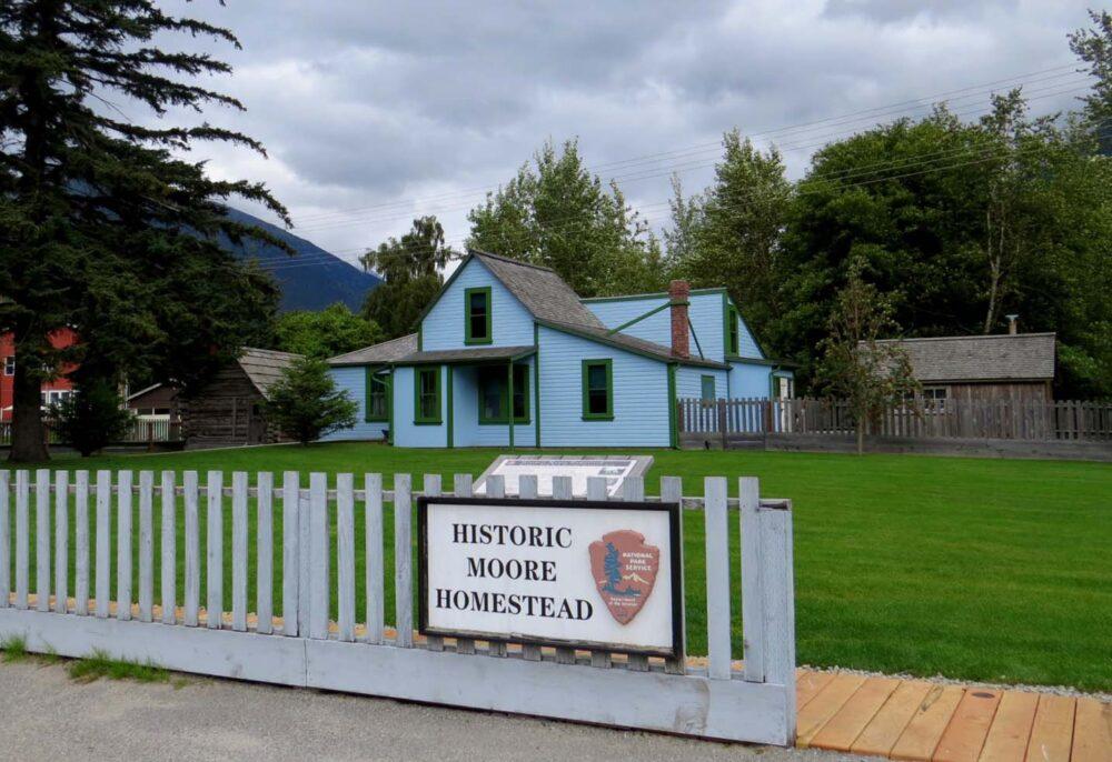 Historic Moore Homestead Skagway Alaska