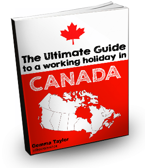 Ultimate Guide to a Working Holiday in Canada 3D ebook