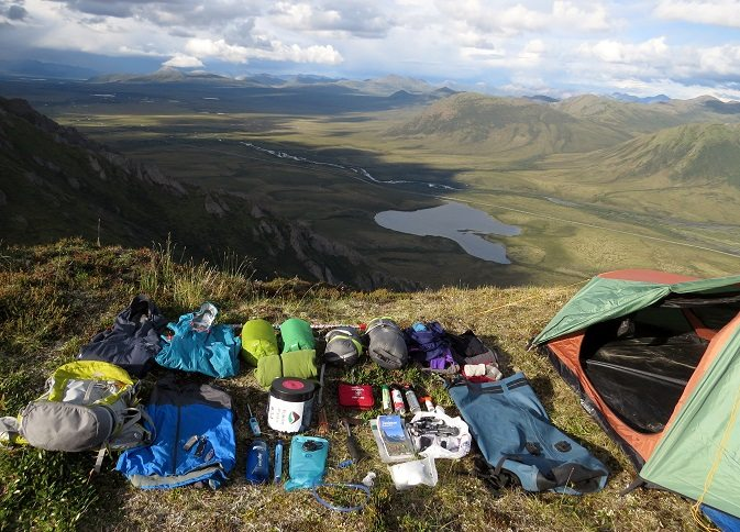 Backpacking gear Tombstone Yukon