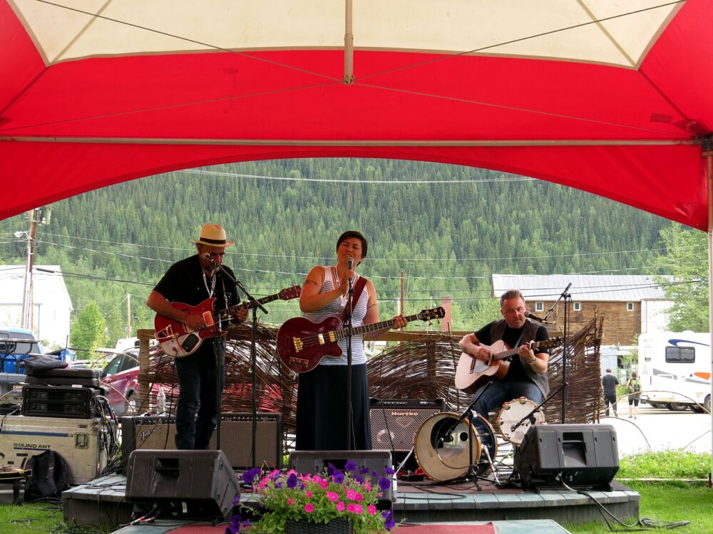Things to do in Dawson City - Diyet performing at Dawson City Music Festival