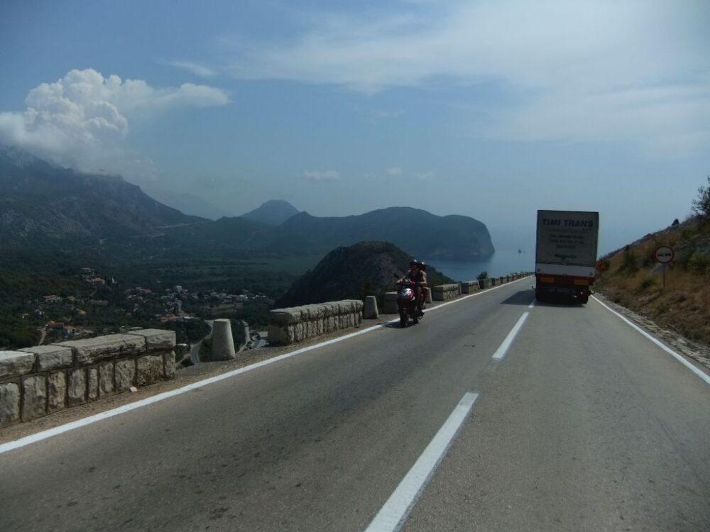roadside views montenegro