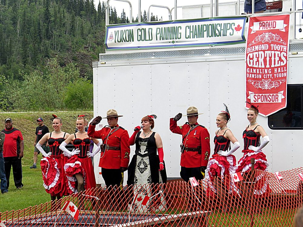 There's Still Gold in Dawson City, Yukon - Canada Day