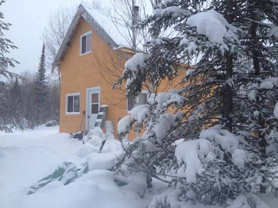 off the grid cabin mywildcanada