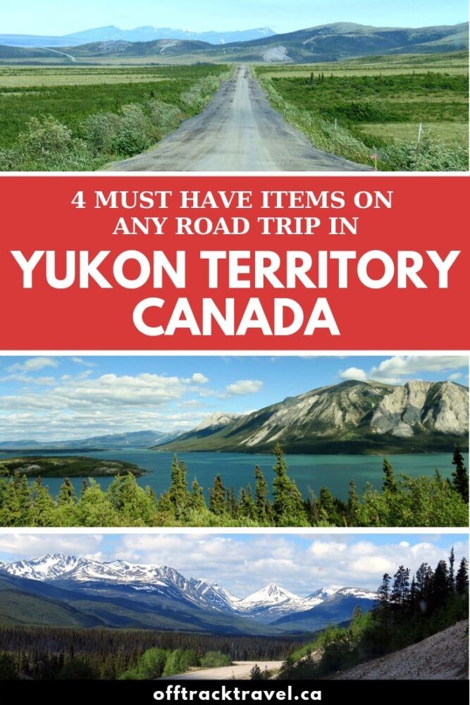 If you're planning a road trip around Canada's amazing Yukon Territory, there are a few must-have items will greatly improve your experience. Be sure not to forget any of these before heading out! offtracktravel.ca