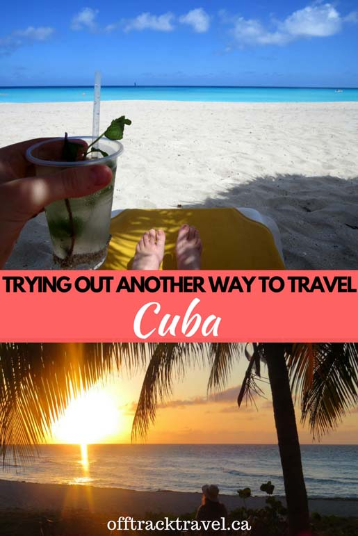 Enjoying Cuba and the beach life for a week