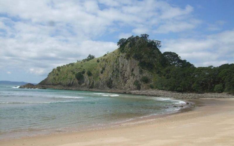 Finding Hidden New Chums Beach, New Zealand