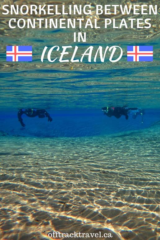 We had the chance to snorkel between continental plates in Iceland.