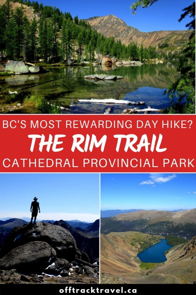 The Rim Trail is one of British Columbia's best one-day hikes. Stunning vistas, interesting rock formations, azure lakes, moderate difficulty hiking and the potential to see mountain goats....what more could you want? Click here to find out more about this amazing hike in Canada! offtracktravel.ca