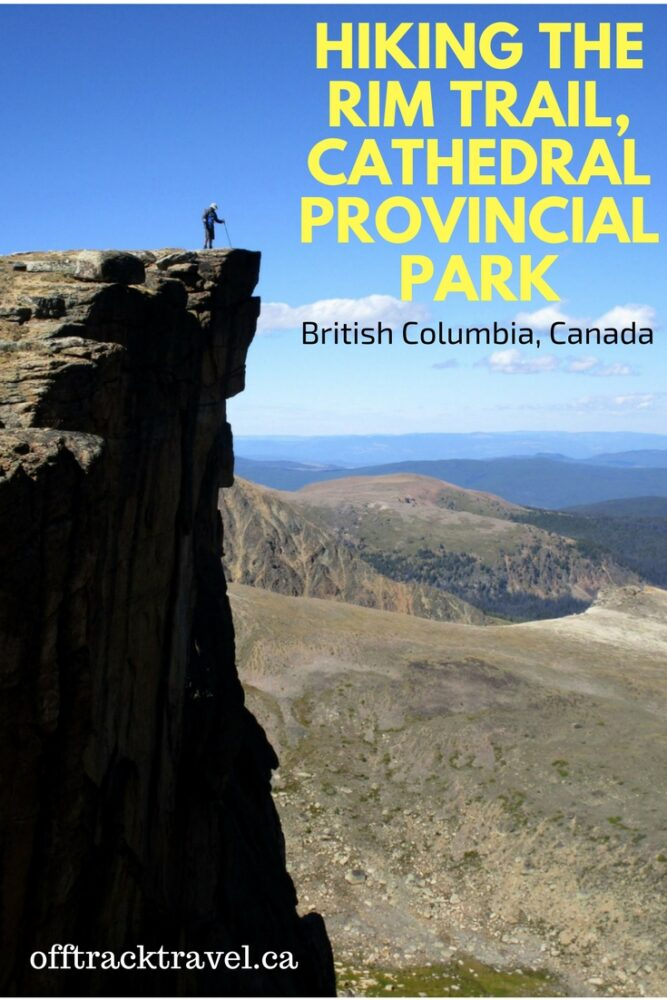 The Rim Trail is one of British Columbia's best one day hikes. Stunning vistas, interesting rock formations, azure lakes, moderate difficulty hiking, potential to see mountain goats - what more could you want? - offtracktravel.ca