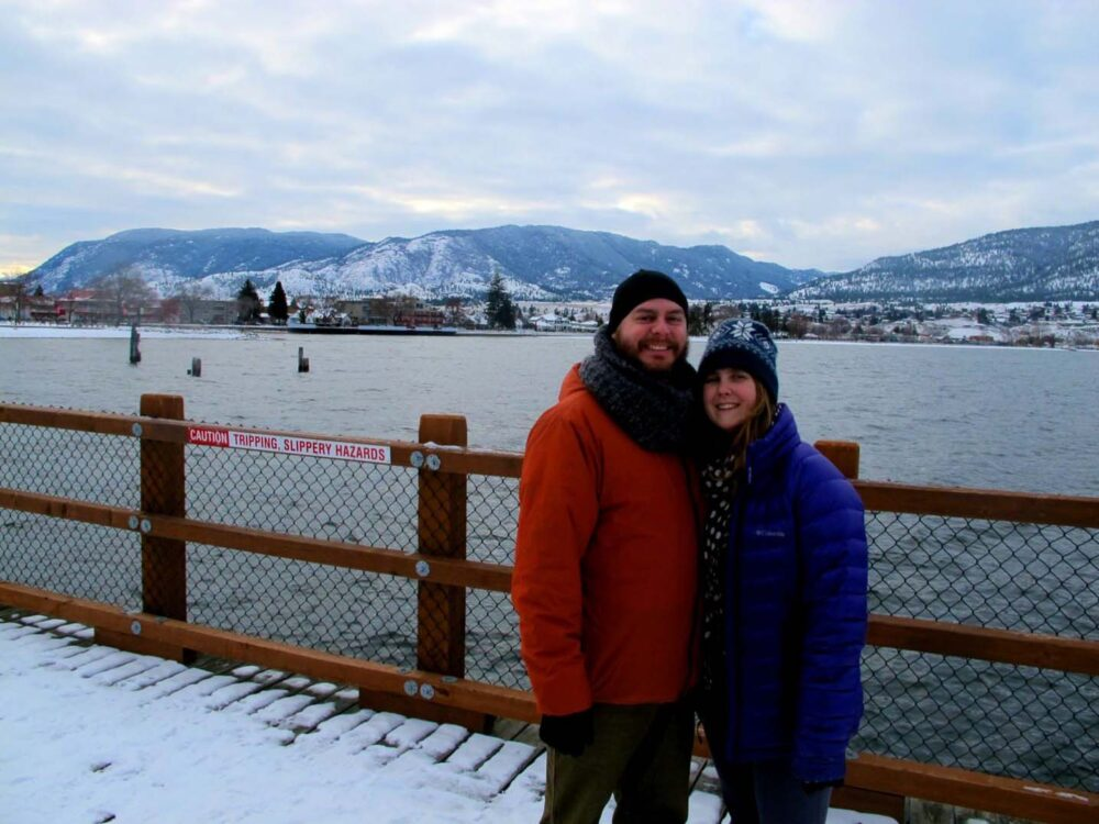 christmas day photo penticton