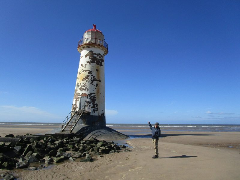 talacre lighthouse wales 2015
