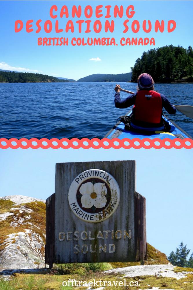 Canoeing Desolation Sound British Columbia