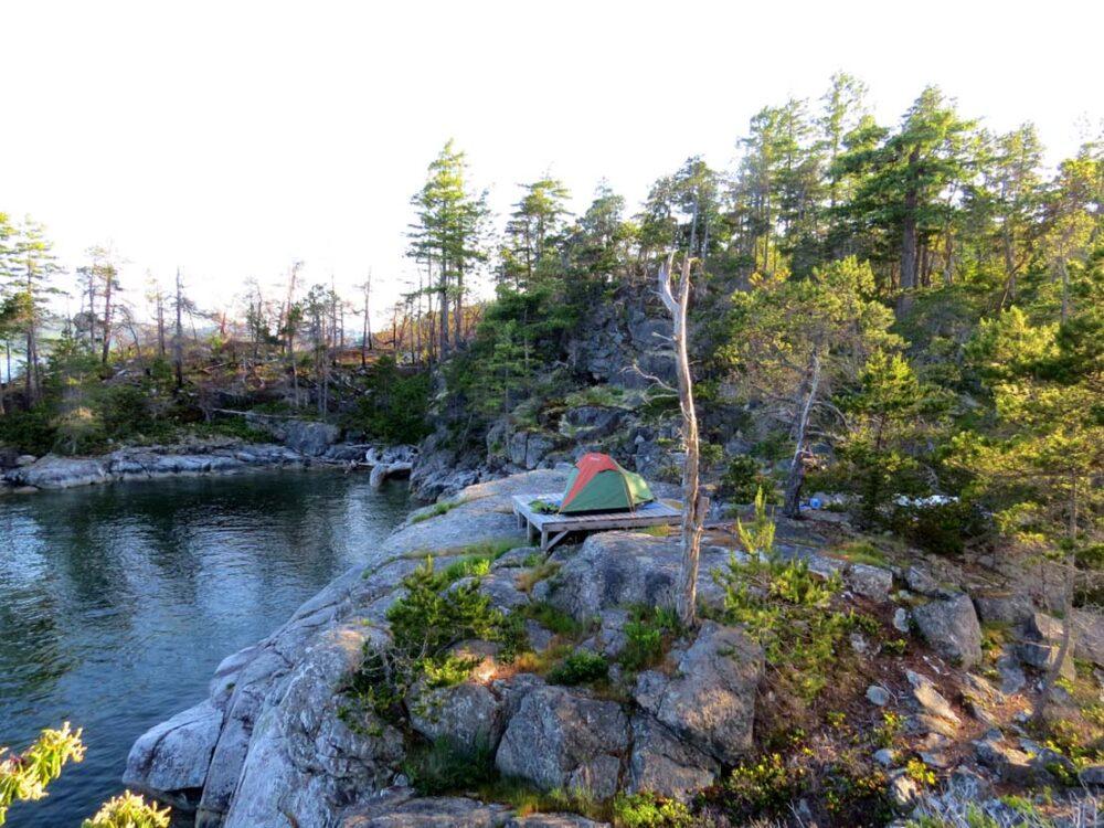 Camping Long Island Sound