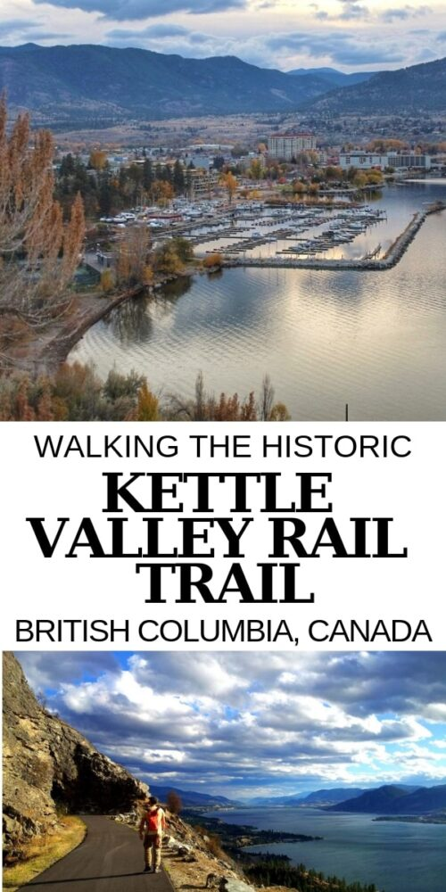 Without a doubt, one of my favourite things about living or visiting Penticton is the Kettle Valley Railway (KVR) Trail that passes through the town. This scenic path offers unbeatable views of Okanagan Lake, Penticton and the mountain beyond. Discover more about the KVR Trail in British Columbia, Canada! offtracktravel.ca