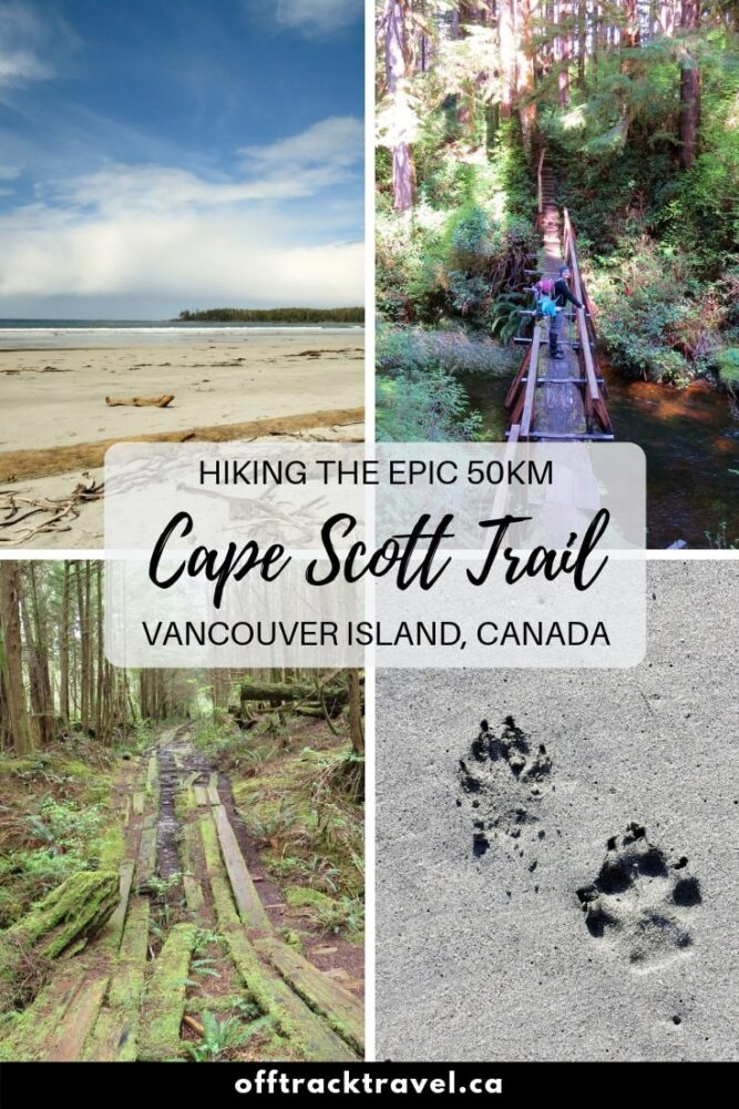 The Cape Scott trail is an epic 50km hike through lush rainforest, sand dunes, stunning beaches and interesting history at the very North-Western tip of Vancouver Island. Click here to read about our experience and find out all the details to hike this unique trail yourself. offtracktravel.ca