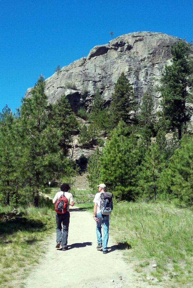 Skaha Bluffs climbing, Penticton