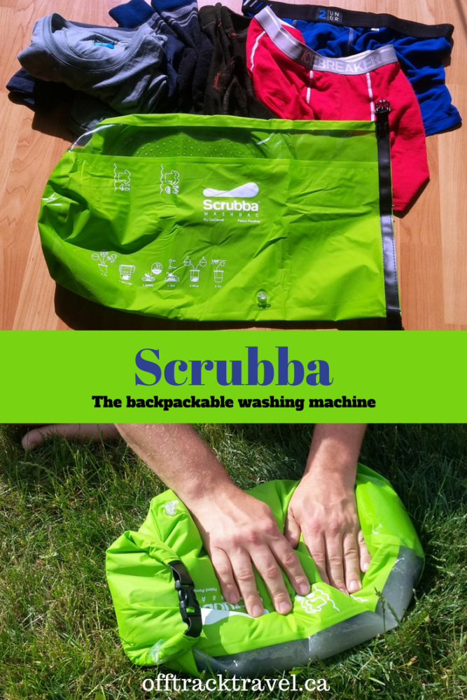 Scrubba bag, tried ant tested by offtracktravel