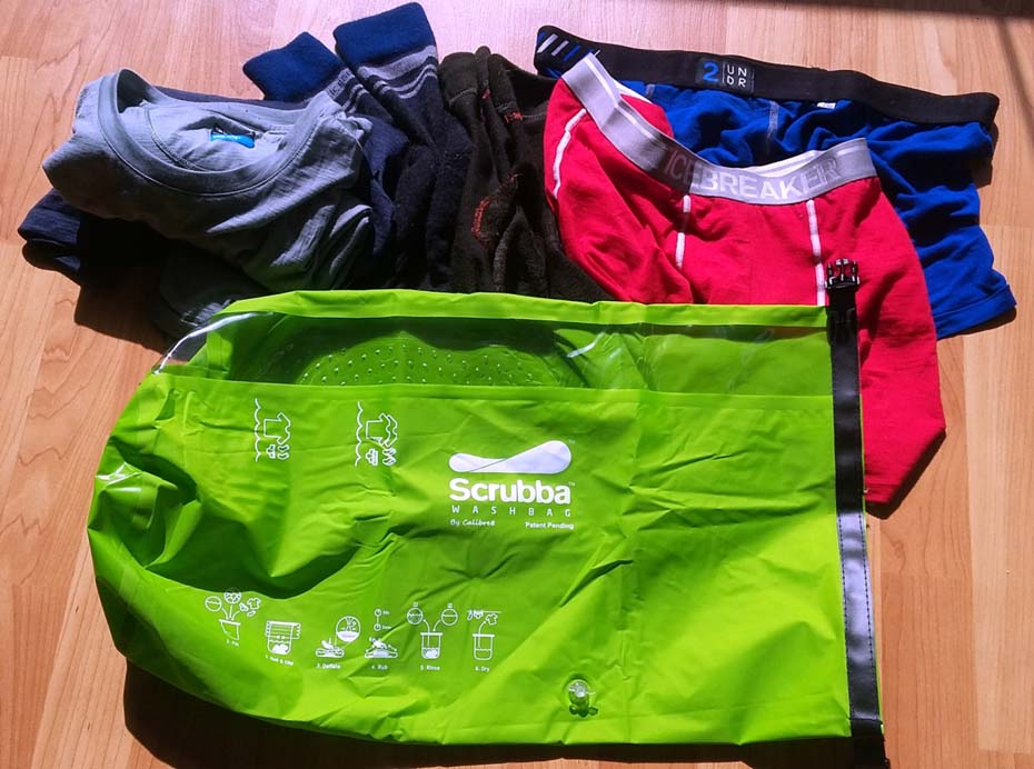 Washing The Washer In Backpack ~ Eartheasy scrubba wash bag review