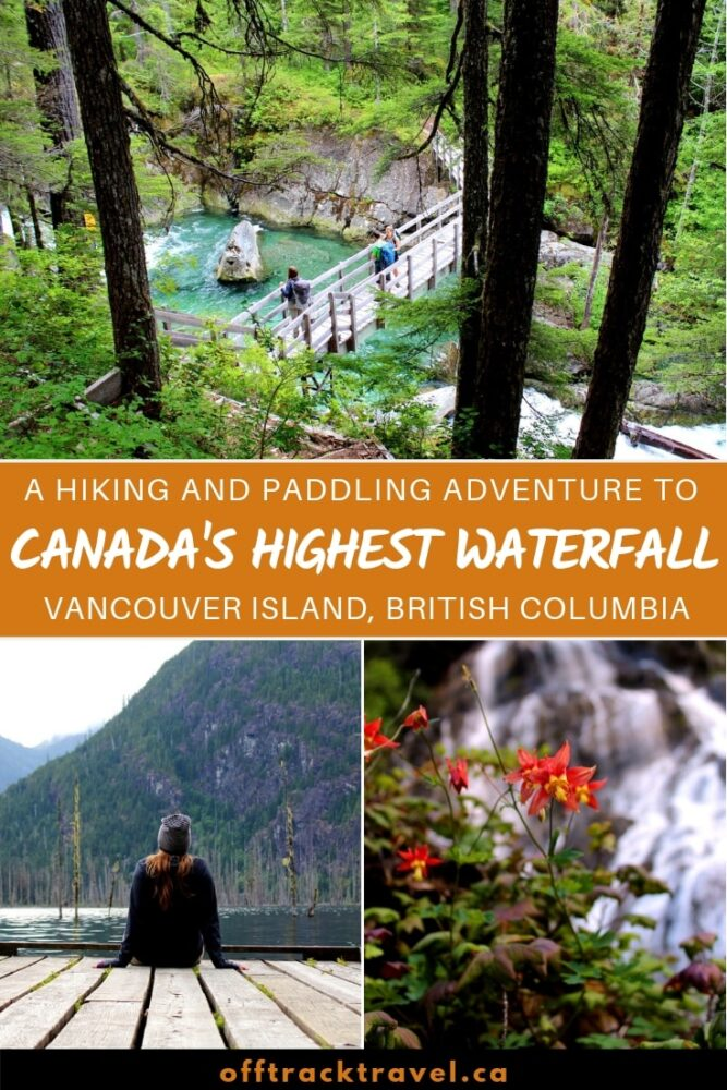 Canada's highest waterfall is hidden in the deep green valleys of Vancouver Island, British Columbia. To see this magnificent waterfall, we undertook an epic 80km paddling and hiking trip. It was worth the journey - here's everything you need to know to make the amazing adventure to Della Falls. offtracktravel.ca