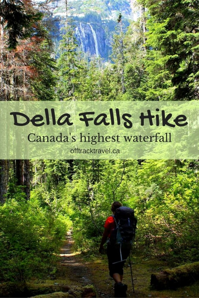 Hiking to Della Falls to see Canada's highest waterfall, Vancouver Island, BC - Off Track Travel
