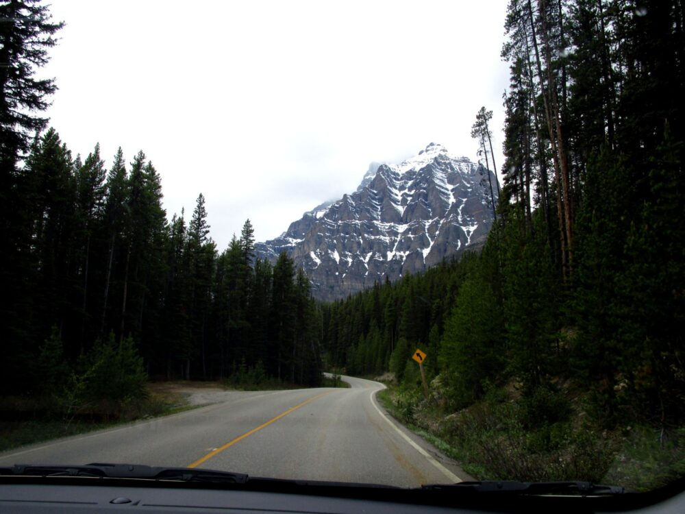 banff parkway road trip canadian rockies