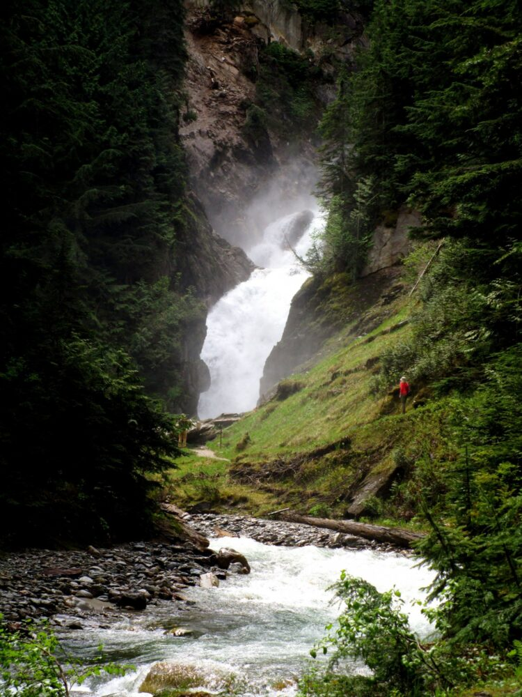 bear falls glacier national park canada