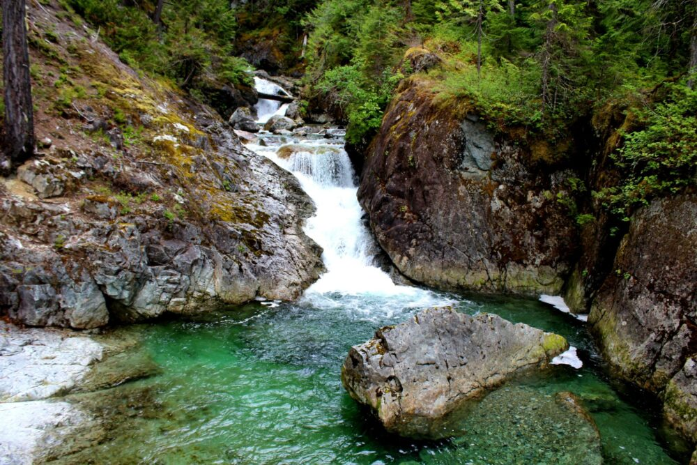 Falls On Vancouver Island