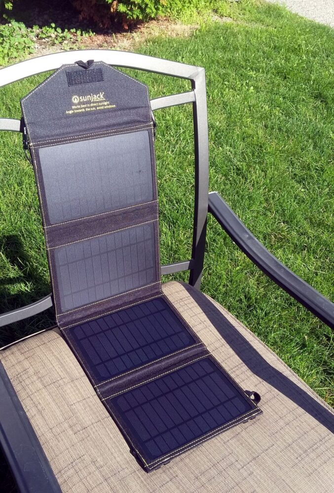 sunjack portable solar charger