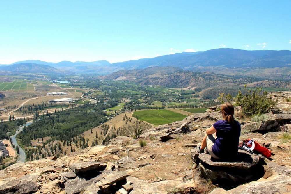 Hiking McIntyre Bluff - just one of the many things to do in Penticton and the Southern Okanagan