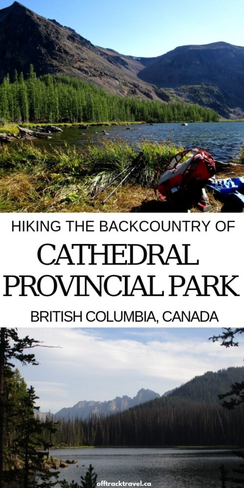 If you're looking for a fun and hassle-free first-time backcountry experience in British Columbia, head to Cathedral in the beautiful Okanagan-Thompson region! The hiking, all above 2000m, is incredible to say the least. This is a place not to miss! offtracktravel.ca