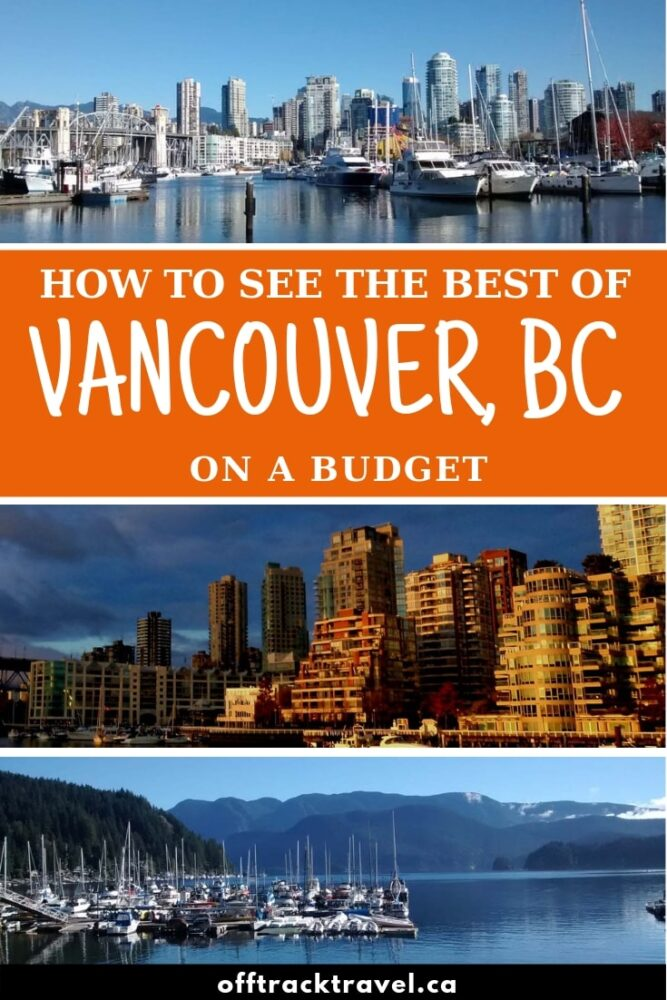 Top eats, sights and things to do when visiting the beautiful city of Vancouver on a budget, written by a regular visitor and one time resident. Click here to discover how to watch your pennies in this beautiful city in British Columbia, Canada! offtracktravel.ca