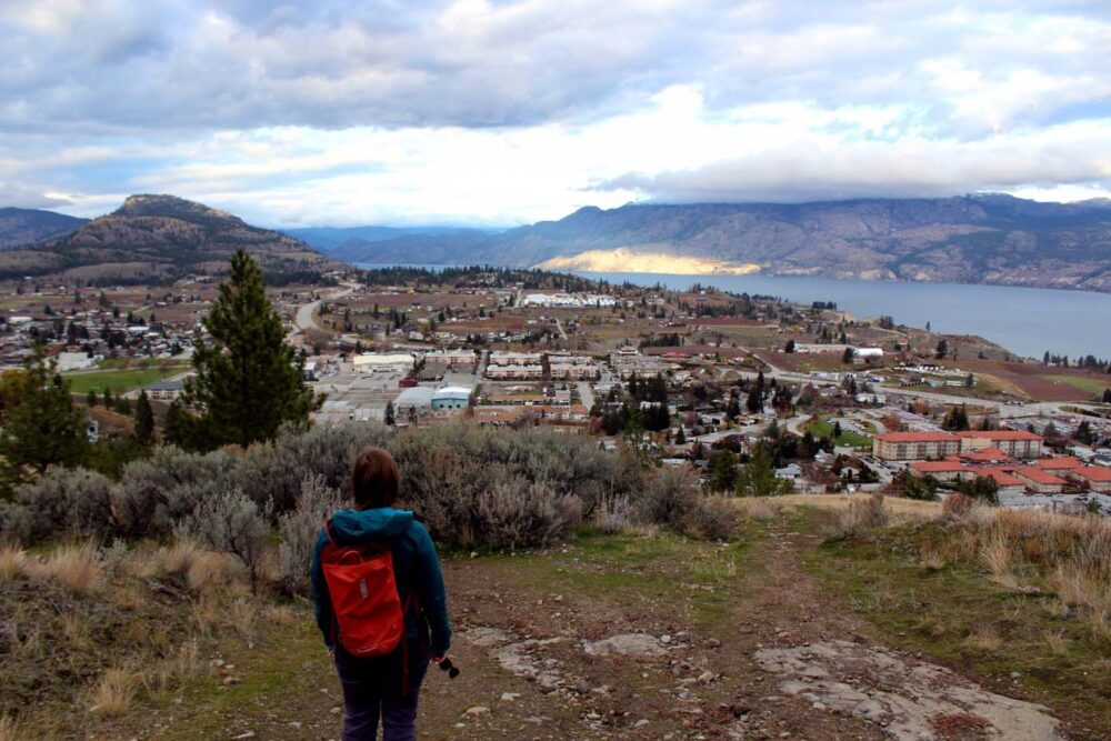 giants head hike summerland view