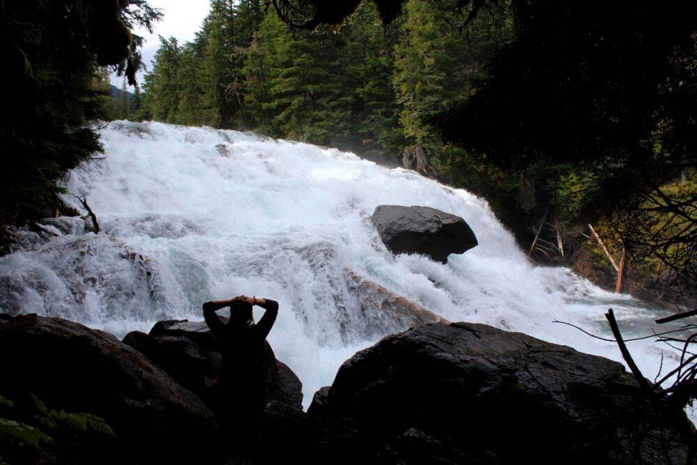 isaac falls bowron lakes 2