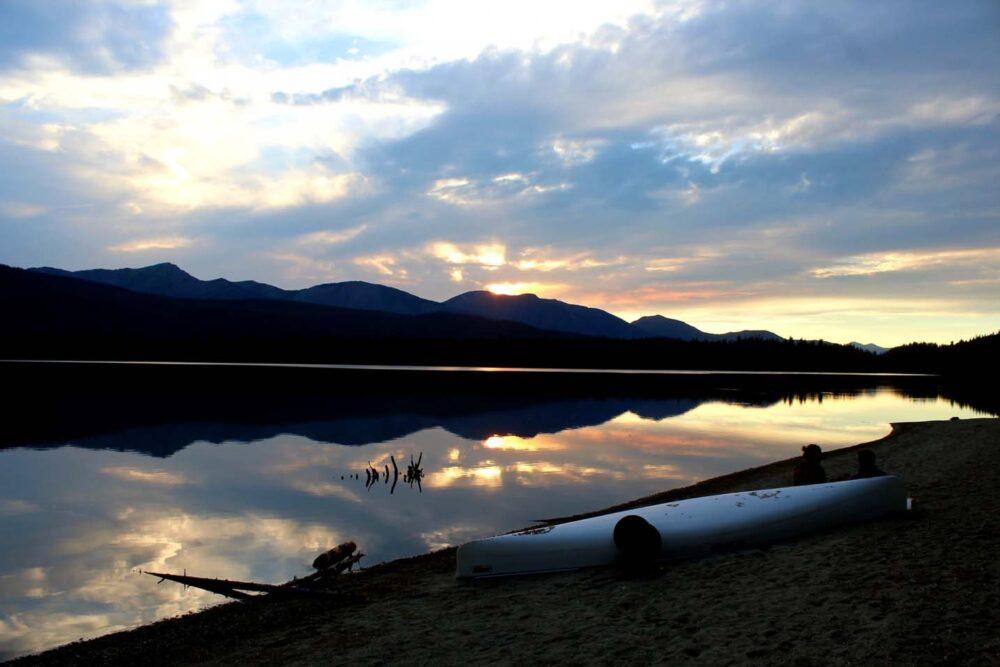 sandy lake bowron lake canoe circuit